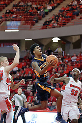 09 December 2017:  Jalen Dupree makes an approach at the basket during a College mens basketball game between the Murray State Racers and Illinois State Redbirds in  Redbird Arena, Normal IL