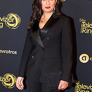 NLD/Amsterdam/20191009 - Uitreiking Gouden Televizier Ring Gala 2019,  Nadia Moussaid