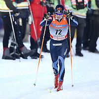 13th World Cup Competition<br /> 19 februar 2011<br /> Men 15 km Classic Individual<br /> Drammen , Konnerud<br /> Matti Heikkinen , Finland<br /> Foto : Reidar Talset , Digitalsport