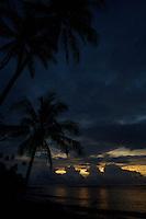 Sunset from Ternate Island, Indonesia.