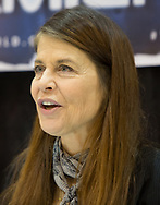 February 8, 2014, New Orleans, LA, Actress Linda Hamilton at Comic Con,  best known for her role as Sarah Conner in the Terminator.