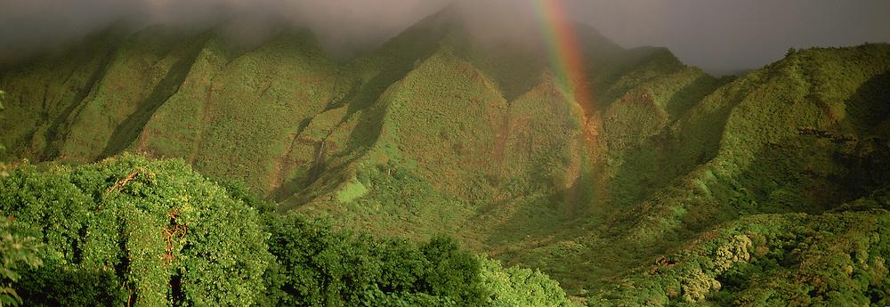 Ko'olau Mountains, Nu'uanu Valley, Oahu, Hawaii, USA<br />