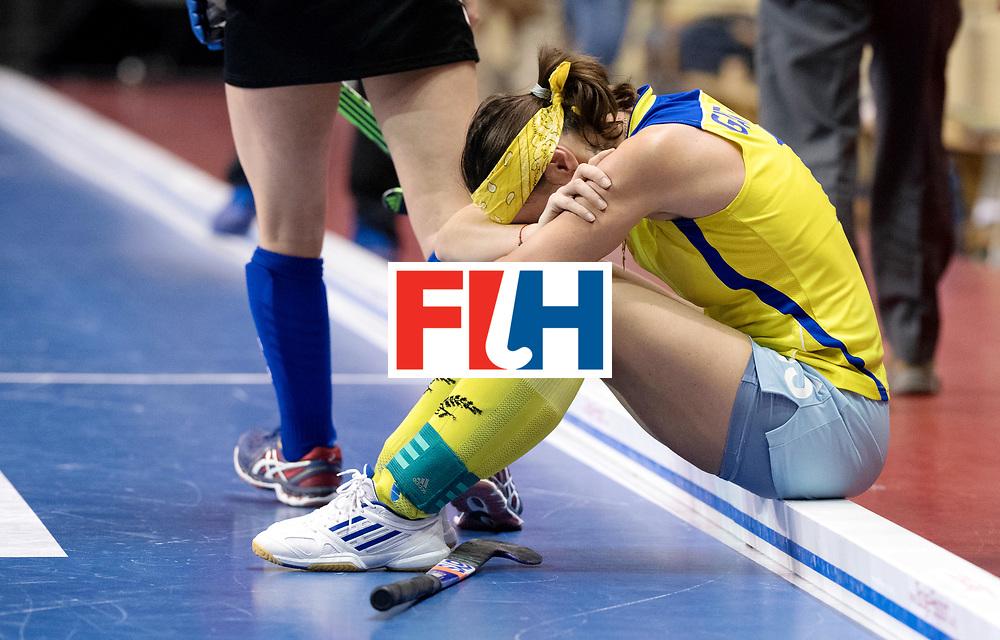 BERLIN - Indoor Hockey World Cup<br /> Women: United States - Kazakhstan<br /> foto: GATAULINA Natalya.<br /> WORLDSPORTPICS COPYRIGHT FRANK UIJLENBROEK
