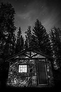 Old shed, Alberta, Canada, Isobel Springett