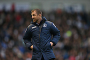 Birmingham City first team manager Gary Rowett during the Sky Bet Championship match between Brighton and Hove Albion and Birmingham City at the American Express Community Stadium, Brighton and Hove, England on 28 November 2015.