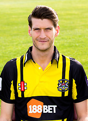 David Payne of Gloucestershire Cricket poses for a headshot in the Royal London One Day Cup kit - Mandatory by-line: Robbie Stephenson/JMP - 04/04/2016 - CRICKET - Bristol County Ground - Bristol, United Kingdom - Gloucestershire  - Gloucestershire Media Day