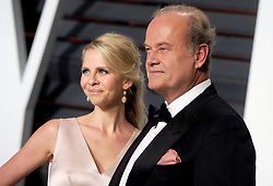 Kayte Walsh, Kelsey Grammer in attendance for 2015 Vanity Fair Oscar Party Hosted By Graydon Carter at Wallis Annenberg Center for the Performing Arts on February 22, 2015 in Beverly Hills, California. EXPA Pictures © 2015, PhotoCredit: EXPA/ Photoshot/ Dennis Van Tine<br /> <br /> *****ATTENTION - for AUT, SLO, CRO, SRB, BIH, MAZ only*****