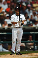 "COPYRIGHT DAVID RICHARD.Ivan ""Pudge"" Rodriguez.Cleveland Indians at Detroit Tigers, July 5, 2007"