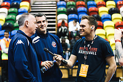 Head Coach Andreas Kapoulas and Coach Nick Burns - Rogan/JMP - 14/10/2018 - BASKETBALL - Copper Box Arena - London, England - British Basketball All-Stars Championship 2018.