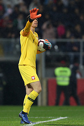 November 20, 2018 - Guimaraes, Guimaraes, Portugal - Wojciech Szczesny goalkeeper of Poland reacts during the UEFA Nations League football match between Portugal and Poland at the Dao Afonso Henriques stadium in Guimaraes on November 20, 2018. (Credit Image: © Dpi/NurPhoto via ZUMA Press)