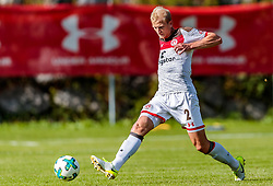 12.07.2017, Sportplatz Buergerau, Saalfelden, AUT, Testspiel, FC Pinzgau vs FC St. Pauli, im Bild Clemens Schoppenhauer (FC St. Pauli) // during the Friendly Football Match between FC Pinzgau and FC St. Pauli at the Stadion Buergerau, Saalfelden, Austria on 2017/07/12. EXPA Pictures © 2017, PhotoCredit: EXPA/ JFK