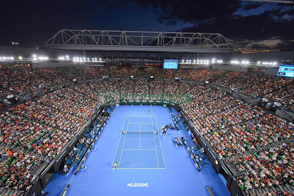 January 19, 2018 - Melbourne, AUSTRALIA - Rod Laver Arena (Credit Image: © Panoramic via ZUMA Press)