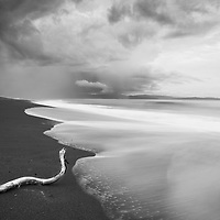 Stormy beach on the Osa Peninsula of Costa Rica