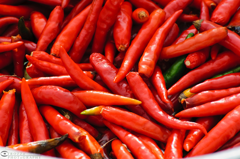 Red Chili peppers, Thailand