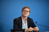 DEU, Deutschland, Germany, Berlin, 19.10.2017: Verleger Tom Kraushaar bei der Vorstellung eines Buchs des FDP-Politikers Christian Lindner.