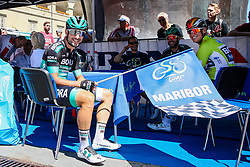 Pascal Ackermann (GER) of Bora - Hansgrohe with teammates during 2nd Stage of 26th Tour of Slovenia 2019 cycling race between Maribor and Celje (146,3 km), on June 20, 2019 in Slovenia.. Photo by Matic Klansek Velej / Sportida