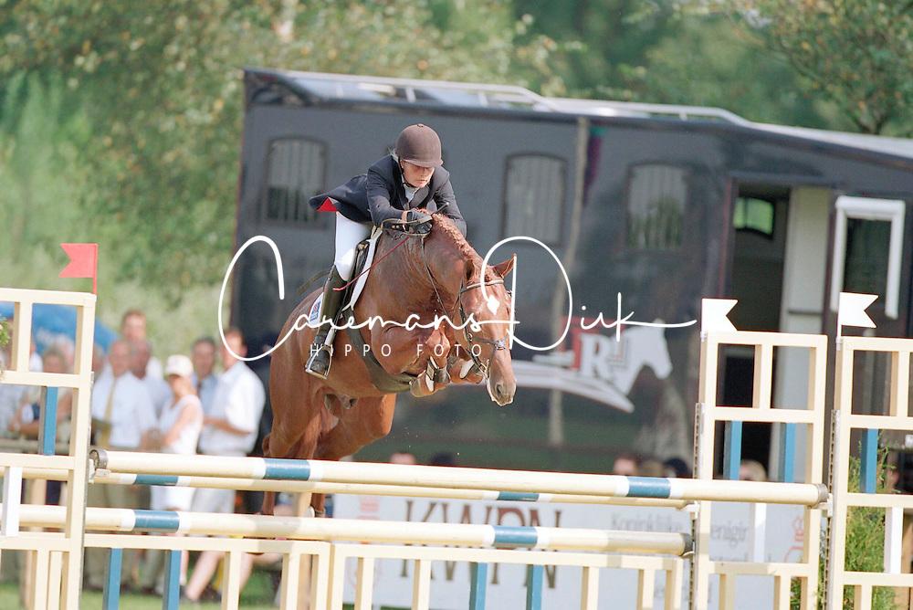 Klompmaker Hester-Plato<br />KWPN Paardendagen  Ermelo 2001<br />Photo &copy; Dirk Caremans