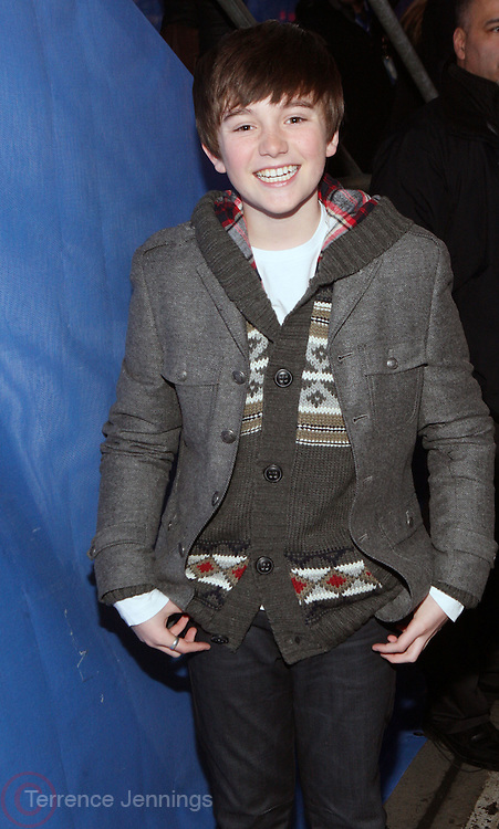 31 December 2010- New York, NY- Greyson Chance at The 2011 New Years Celebration in Times Square sponsored by Nivea held on December 31, 2010 in New York City. Photo Credit: Terrence Jennings