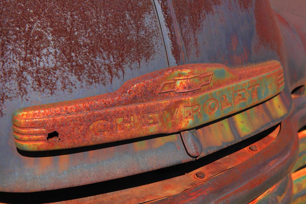 Chevrolet Truck Hood Emblem - Motor Transport Museum - Campo, CA