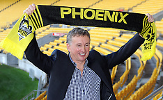 Wellington-Football, new Phoenix coach Ernie Merrick