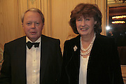 Lord and Lady de La Warr, Cartier Racing Awards , Four Seasons Hotel, Hamilton Place, London, W1, 15 November 2006. ONE TIME USE ONLY - DO NOT ARCHIVE  © Copyright Photograph by Dafydd Jones 66 Stockwell Park Rd. London SW9 0DA Tel 020 7733 0108 www.dafjones.com