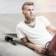 Uppdrag för Stüffe's Barber. Modell: Adam Fernqvist. Photo © Daniel Roos