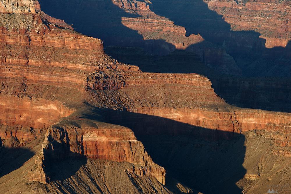 Views of the Grand Canyon South Rim, Arizona, USA