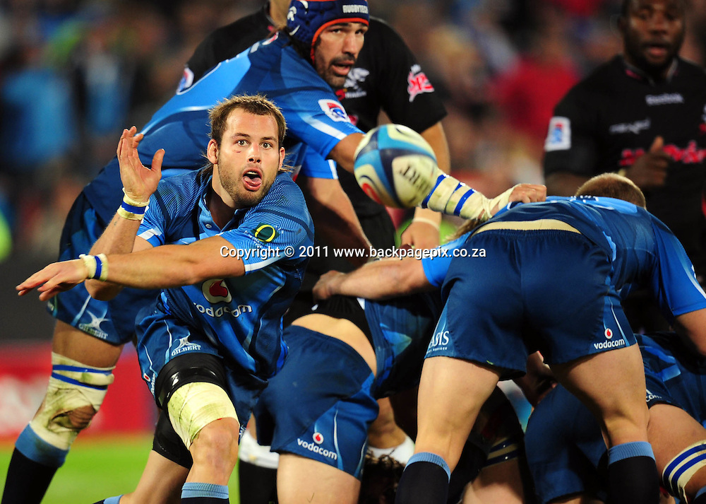Francois Hougaard of the Bulls <br /> &copy; Barry Aldworth/Backpagepix