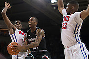 DALLAS, TX - JANUARY 7: Farad Cobb #21 of the Cincinnati Bearcats drives to the basket against the SMU Mustangs on January 7, 2016 at Moody Coliseum in Dallas, Texas.  (Photo by Cooper Neill/Getty Images) *** Local Caption *** Farad Cobb