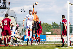 Curanovic Darjan of NK Triglav Matteo Tomicek of ND Gorica during Football match between NK Triglav Kranj and ND Gorica in 30th Round of Prva liga Telekom Slovenije 2018/19, on May 2nd, 2019, in Sports park Kranj, Slovenia. Photo by Grega Valancic / Sportida