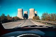 Tsjechië, temelin, 30 oktober 2000, ..Kerncentrale bij Temelin...Gebouwd op slechts 50 km van de Duitse en Oostenrijkse grens. Oostenrijk wil dat de centrale niet in gebruik wordt genomen en dreigt met veto over toetreding Tsjechië tot de E.U. De centrale is van het Tchernobyl type en Tsjechië heeft al een stroomoverschot...Foto: Flip Franssen/Hollandse Hoogte