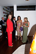 PRINCESS MICHAEL OF KENT; LALIT MODI; RENOUKA CALIL; ; LUCY JAFRI, , The launch party for Elephant Parade hosted at the house of  Jan Mol. Covent Garden. London. 23 June 2009.