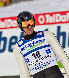 05.02.2011, Heini Klopfer Skiflugschanze, Oberstdorf, GER, FIS World Cup, Ski Jumping, Finale, im Bild Emmanuel Chedal (FRA) , during ski jump at the ski jumping world cup in Oberstdorf, Germany on 05/02/2011, EXPA Pictures © 2011, PhotoCredit: EXPA/ P. Rinderer