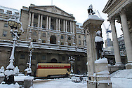 The Bank of England, City, London, England, Britain 2 Feb 2009