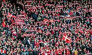 FOOTBALL: Danish fans before the World Cup 2018 UEFA Qualifier Group E match between Denmark and Romania at Parken Stadium on October 8, 2017 in Copenhagen, Denmark. Photo by: Claus Birch / ClausBirch.dk.