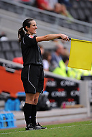 Milton Keynes Dons/Huddersfield Coca Cola League one  05.09.09 <br /> Photo: Tim Parker Fotosports International<br /> Amy Rayner Assistant Referee during the game