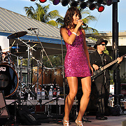 Wendy Renee performs at the 13th annual Jazz on the Green on Saturday, January 17, 2009 in Fort Myers, FL.