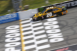 June 1, 2018 - Long Pond, Pennsylvania, United States of America - Erik Jones (20) brings his car down the frontstretch during qualifying for the Pocono 400 at Pocono Raceway in Long Pond, Pennsylvania. (Credit Image: © Chris Owens Asp Inc/ASP via ZUMA Wire)