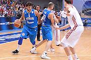 DESCRIZIONE : Qualificazioni EuroBasket 2015 Russia-Italia  <br /> GIOCATORE : Alessandro Gentile<br /> CATEGORIA : nazionale maschile senior A <br /> GARA : Qualificazioni EuroBasket 2015 - Russia-Italia<br /> DATA : 13/08/2014 <br /> AUTORE : Agenzia Ciamillo-Castoria