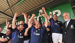 The wait is over Westport RFC win the Connacht Junior Cup .<br /> Pic Conor McKeown