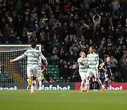 Celtic&rsquo;s Nir Biton celebrates his wonder goal  -  Celtic v Dundee - SPFL Premiership at Celtic Park<br /> <br /> <br />  - &copy; David Young - www.davidyoungphoto.co.uk - email: davidyoungphoto@gmail.com