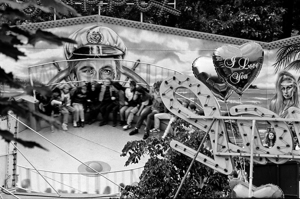 "One of the really early images when I still was working for the local newspaper ""Oberurseler Kurier"" of a celebration called ""Brunnenfest"" in the city of Oberursel. Photographed 1992."