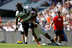Niyi Adeolokun of Barbarians - Mandatory by-line: Ryan Hiscott/JMP - 27/05/2018 - RUGBY - Twickenham Stadium - London, England - England v Barbarians - Quilter Cup