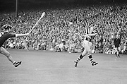 Players jump for ball during the All Ireland Senior Hurling Final - Kilkenny v Galway, Kilkenny 2-12, Galway 1-8, 2nd September 1979.