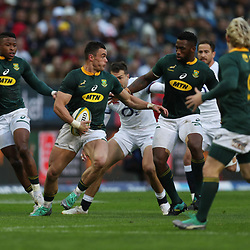 Jesse Kriel of South Africa during the 2018 Castle Lager Incoming Series 3rd Test match between South Africa and England at Newlands Rugby Stadium,Cape Town,South Africa. 23,06,2018 Photo by (Steve Haag JMP)
