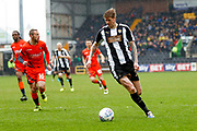 Notts County forward Jonathan Stead (30) in action  during the EFL Sky Bet League 2 match between Notts County and Wycombe Wanderers at Meadow Lane, Nottingham, England on 30 March 2018. Picture by Simon Davies.