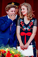 21-7-2018 Princess Elisabeth Belgian National Day celebrations, Brussels, Belgium - 21 Jul 2018 COPYRIGHT ROBIN UTRECHT