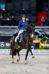 Roos Laurence, BEL, Fil Rouge<br /> Stuttgart - German Masters 2019<br /> © Hippo Foto - Stefan Lafrentz