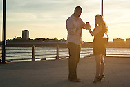 August 29, 2014 - Jordan and Bethany's engagement at Chelsea Piers, New York.