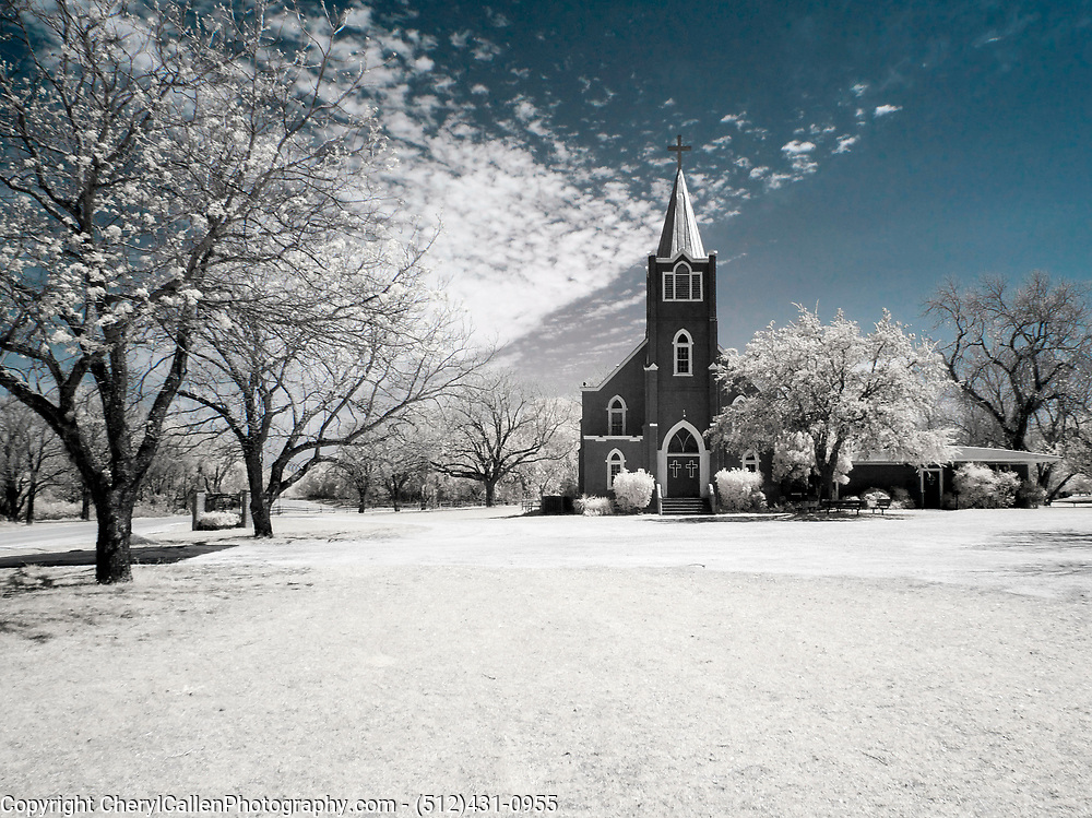 Church shot in Infrared